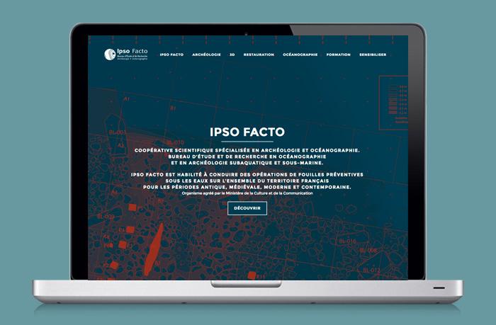 Ipso Facto<br>Archéologie-Océanographie